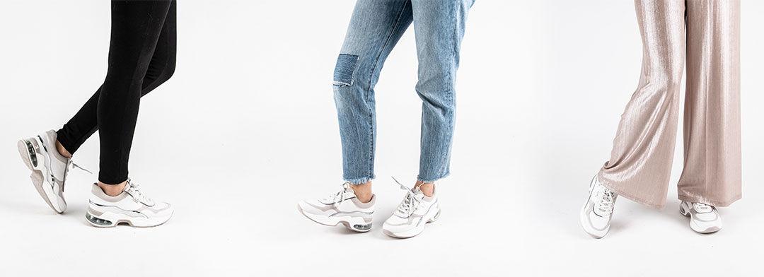 Dad Sneaker kombinieren