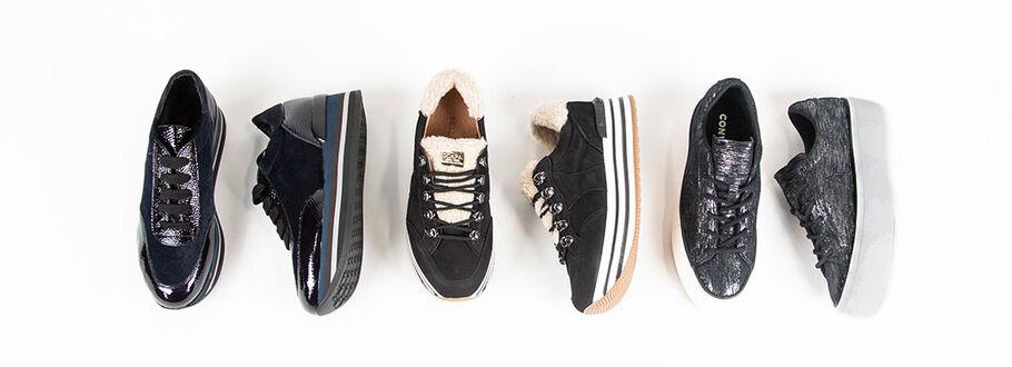 Plateau Sneaker sind wieder da