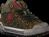 Grüne RED RAG Sneaker 13227 - small