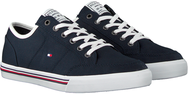 Blaue TOMMY HILFIGER Sneaker low CORE CORPORATE  - large