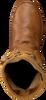 Cognacfarbene KARMA OF CHARME Stiefeletten MOON - small
