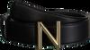 Schwarze NIKKIE Gürtel N-9-577-1805 N LOGO HIP  BELT - small