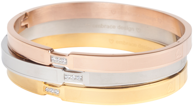 Goldfarbene EMBRACE DESIGN Armband SIENNA  - large