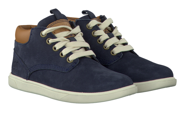 Blaue TIMBERLAND Ankle Boots GROVETON LEATHER CHUKKA - large