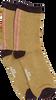 Cognacfarbene BECKSONDERGAARD Socken SHIMMER PASHA SOCK  - small