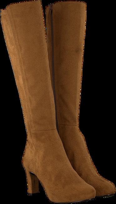 Cognacfarbene UNISA Hohe Stiefel NATALIE  - large