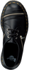 Schwarze DR MARTENS Schnürschuhe 1461 BEX ZIP  - small