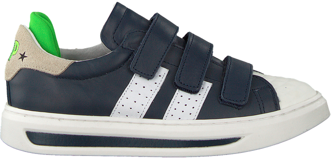 Blaue HIP Sneaker H1888 KLITTENBAND - large