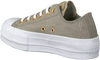 Graue CONVERSE Sneaker CTAS LIFT OX DARK STUCCO/DRIF - small