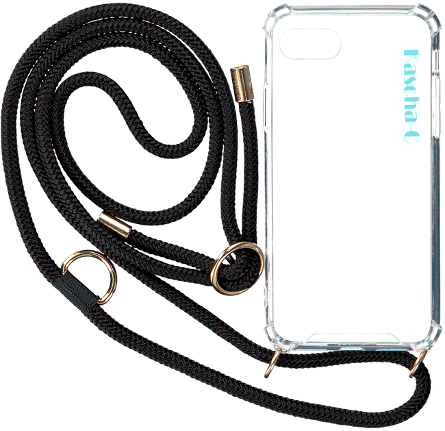 Schwarze KASCHA-C Handy-Schutzhülle PHONECORD IPHONE XR  - large