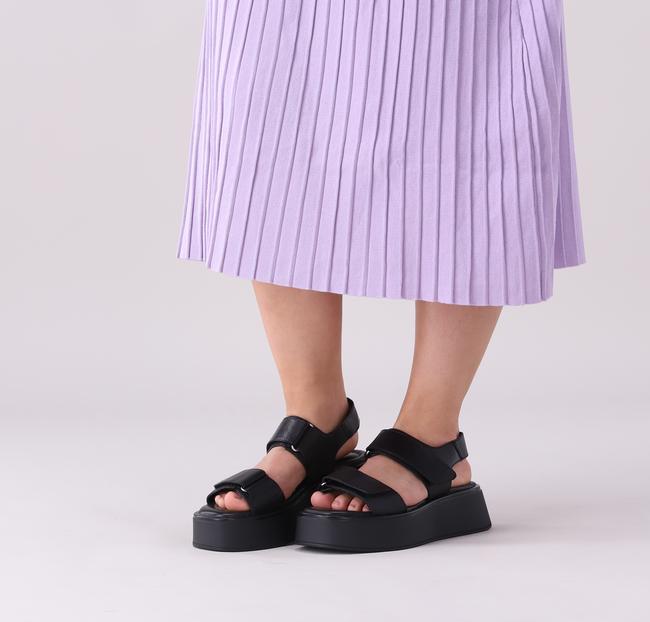 Schwarze VAGABOND Pantolette COURTNEY  - large