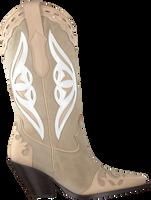 Taupe TORAL Cowboystiefel 12514  - medium