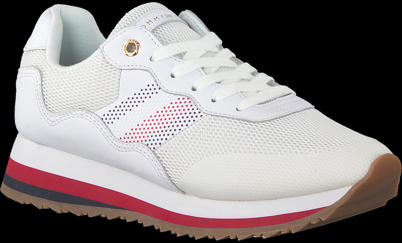 Weiße TOMMY HILFIGER Sneaker CORPORATE RETRO