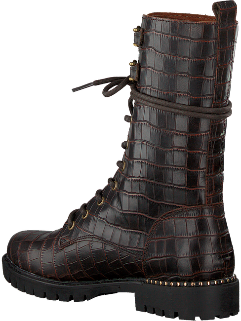 Braune OMODA Biker Boots BEE 303 - large