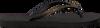 Schwarze UZURII Pantolette PYTHON - small