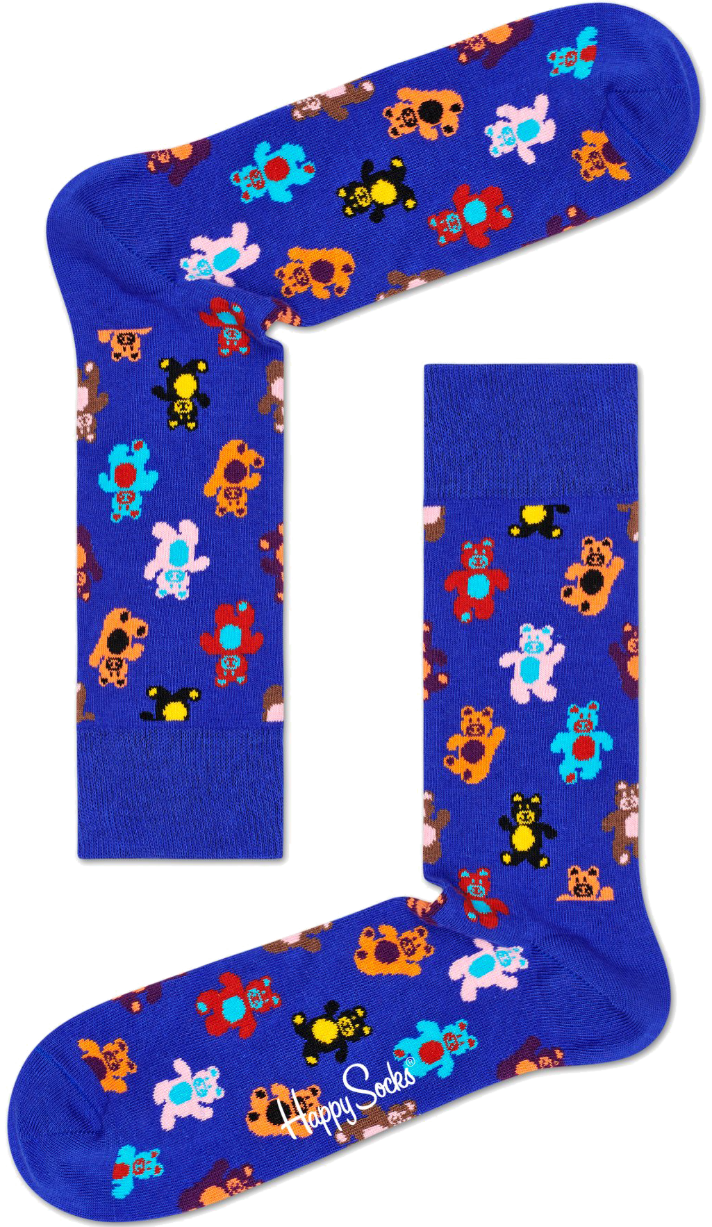 Blaue HAPPY SOCKS Socken TEDDYBEAR Ys4Jd
