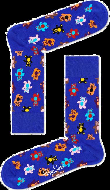 Blaue HAPPY SOCKS Socken TEDDYBEAR - large