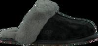 Schwarze UGG Hausschuhe SCUFFETTE II - medium