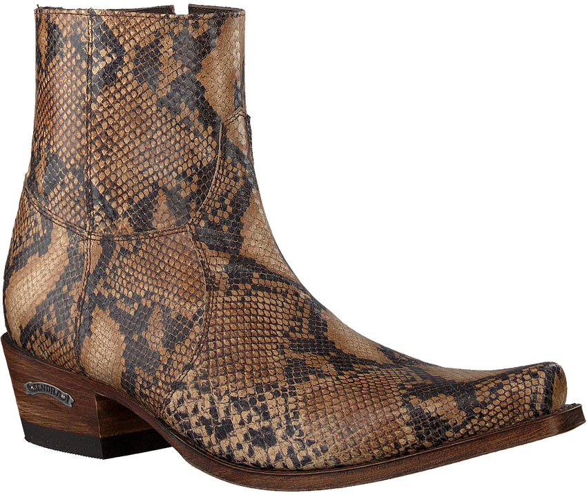 Braune SENDRA Cowboystiefel 5200  - larger