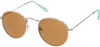 Silberne LE BIG Sonnenbrille SAILOR SUNGLASSES  - small