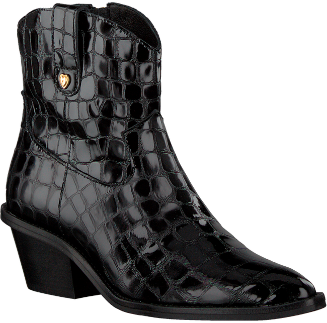 Schwarze FABIENNE CHAPOT Stiefeletten HOLLY ZIPPER BOOT  - large