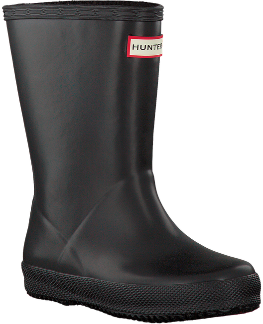 Schwarze HUNTER Gummistiefel KIDS FIRST CLASSIC - large