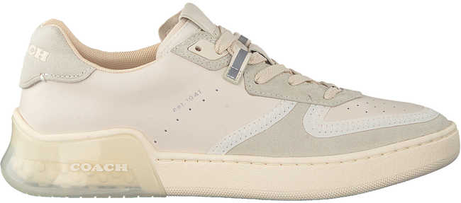 Weiße COACH Sneaker low ADB SUEDE-LEATHER COURT  - large