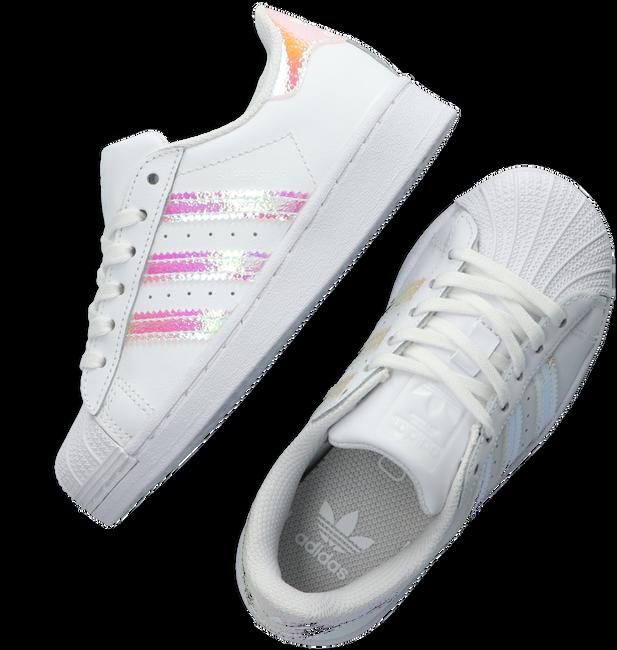 Weiße ADIDAS Sneaker low SUPERSTAR C  - large