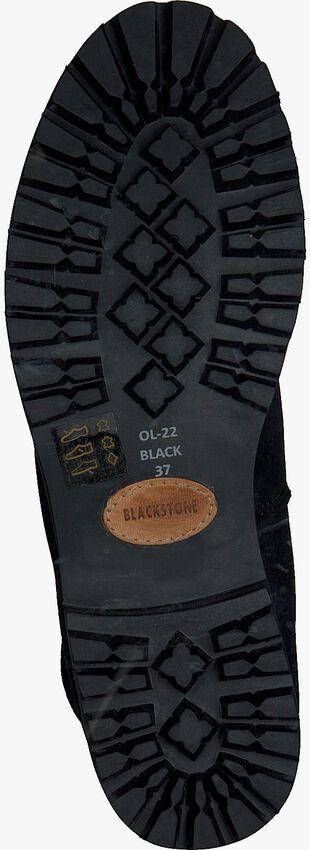 Schwarze BLACKSTONE Schnürstiefel OL22 - larger