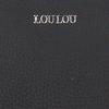 Schwarze LOULOU ESSENTIELS Clutch 04CLUTCHM ROBUSTE  - small