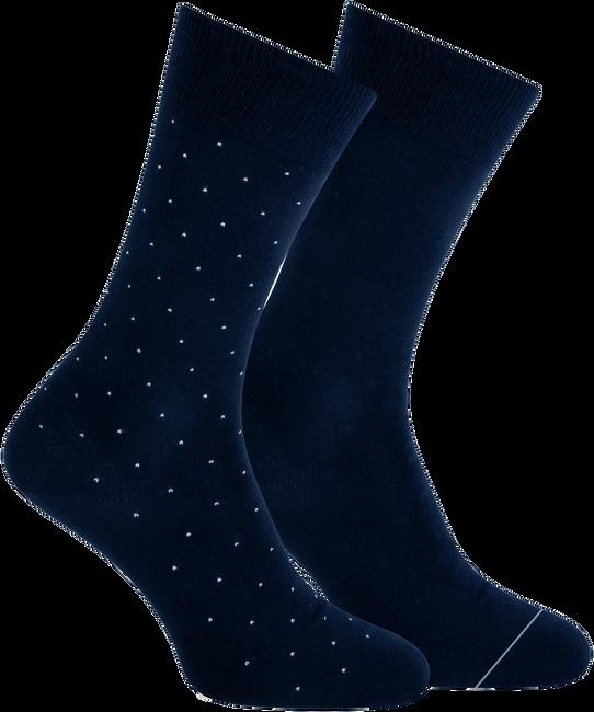 Blaue MARCMARCS Socken ANDREAS  - large