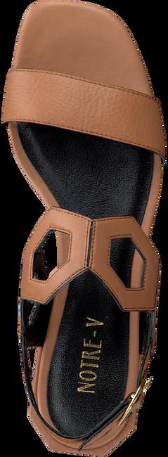 Cognacfarbene NOTRE-V Sandalen BZ0205X  - large