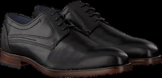 Schwarze OMODA Business Schuhe 735-AS - large