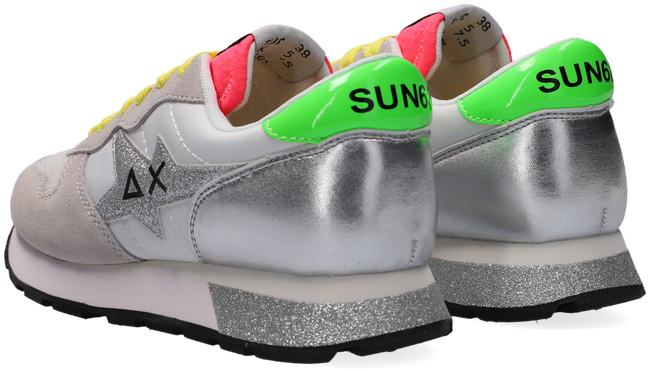 Weiße SUN68 Sneaker low ALLY STAR GLITTER LOGO W  - large