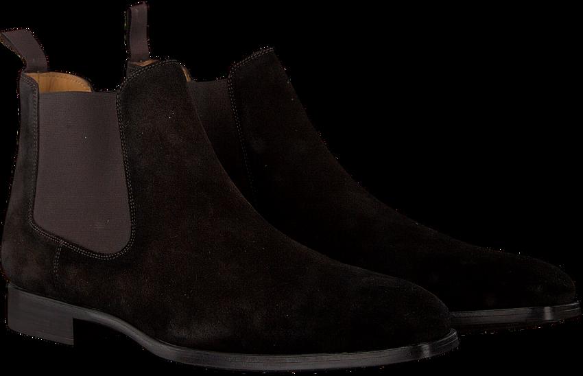 Cognacfarbene MAGNANNI Chelsea Boots 20109 - larger