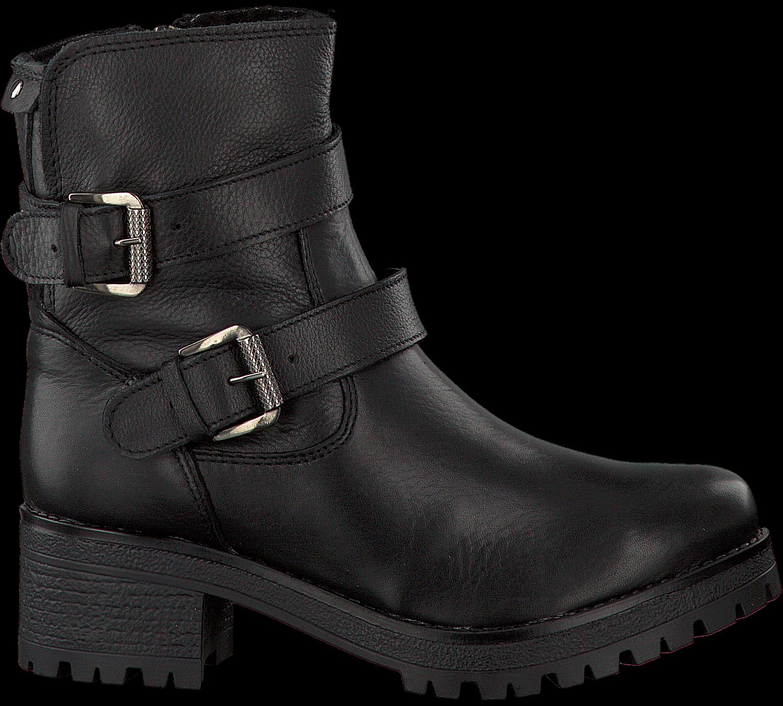 Schwarze Omoda Biker Boots 25595 Omoda ub8pv