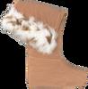 Braune DUBARRY Socken LYNX - small