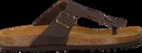 Cognacfarbene MAZZELTOV. Pantolette 19-0007  - medium