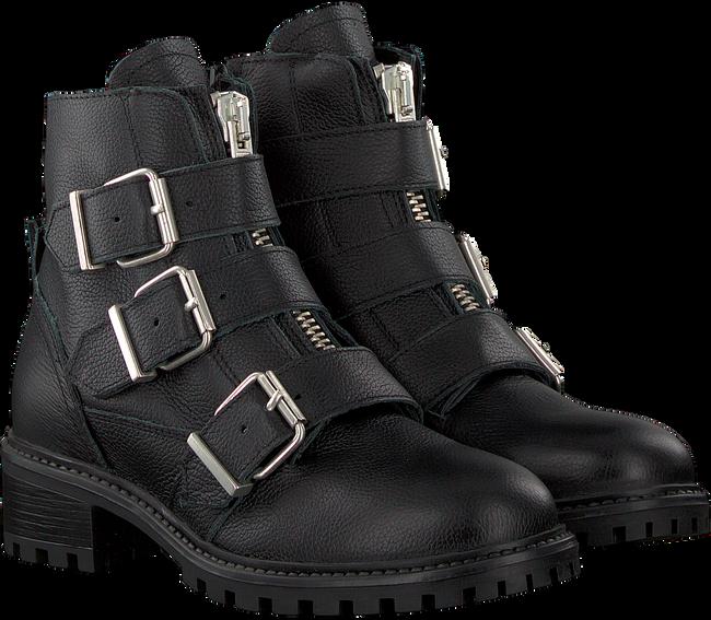 Schwarze PS POELMAN Biker Boots 5461 - large