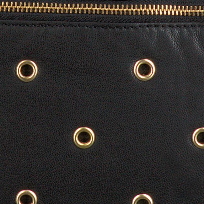 Schwarze DEPECHE Beuteltasche 14350  - large