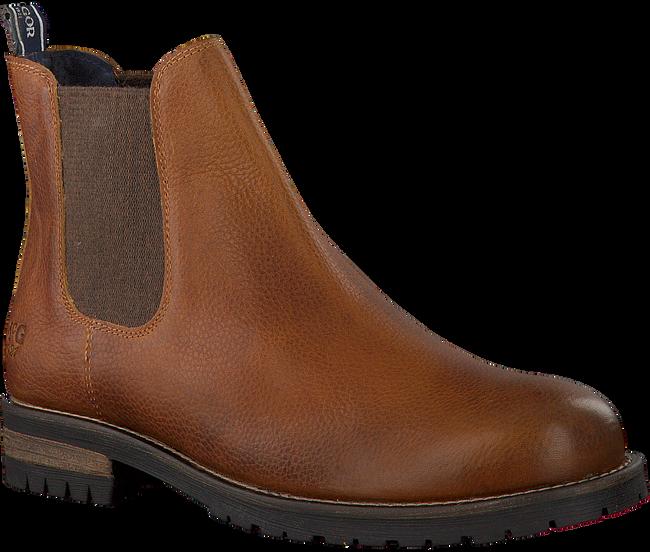 Cognacfarbene MCGREGOR Chelsea Boots CRESTONE - large