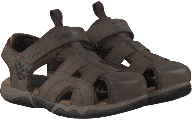 Braune TIMBERLAND Sandalen OAK BLUFFS LEATHER FISHERMAN - large