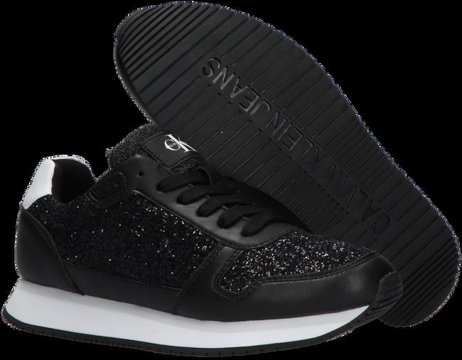Schwarze CALVIN KLEIN Sneaker low RUNNER SNEAKER LACEUP GLITTER  - large