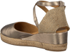 Goldfarbene UNISA Espadrilles CAUDE  - small