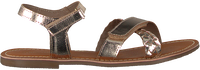 Goldfarbene TON & TON Sandalen SH701  - medium