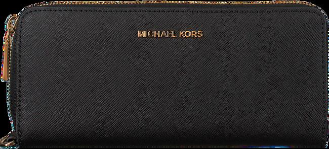 Schwarze MICHAEL KORS Portemonnaie TRAVEL CONTINENTAL - large
