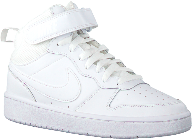 Weiße NIKE Sneaker high COURT BOROUGH MID 2 (GS)  - large