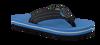 Blaue REEF Zehentrenner R2345 - small