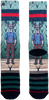 Mehrfarbige/Bunte XPOOOS Socken 60171  - small