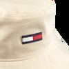 Beige TOMMY HILFIGER Kappe FLAG BUCKET HAT  - small